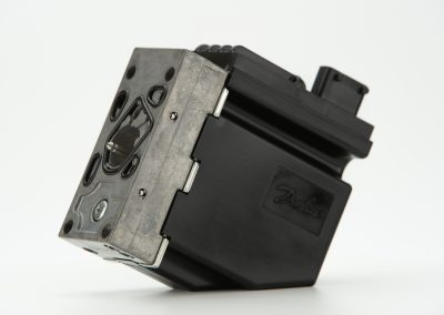 Professional photography images of a Danfoss valve